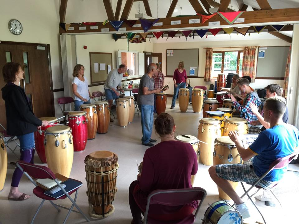 Studying congas