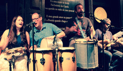Performing at Carioca da Gema