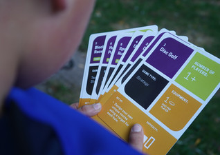 Game cards for student-led play