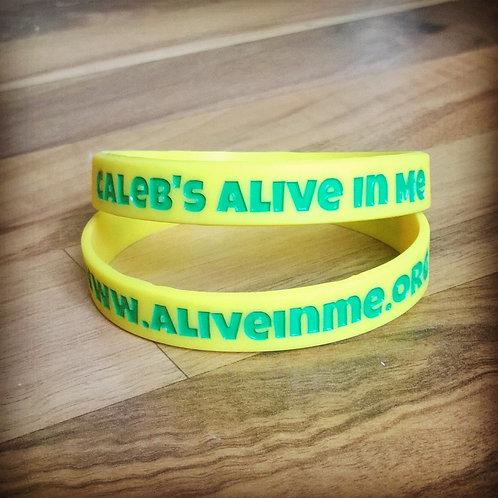 Bulk Order Caleb's Alive In Me Wristband