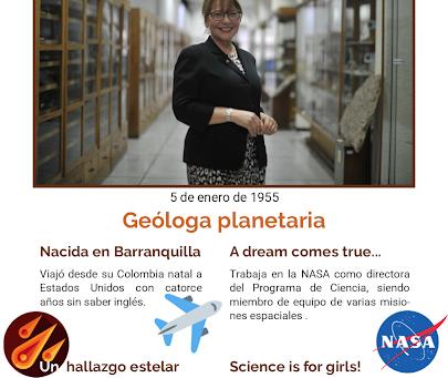 PIONERAS: Adriana C. Ocampo