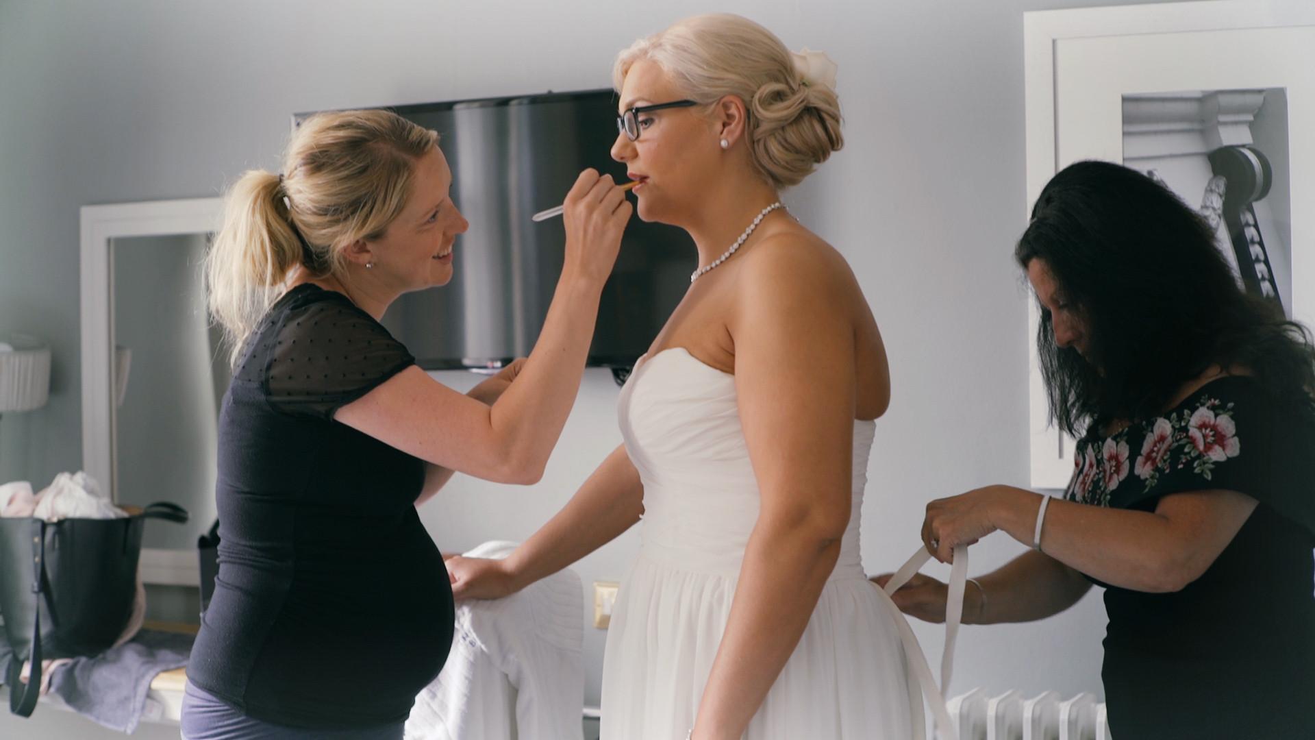 getting ready 'bride'.jpg