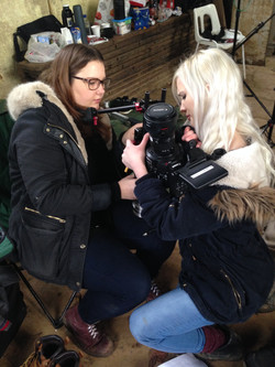 DOP Mary and Camera Operator Tilly