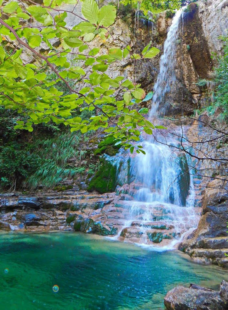 Orlia Stream –Waterfalls mt Olympus
