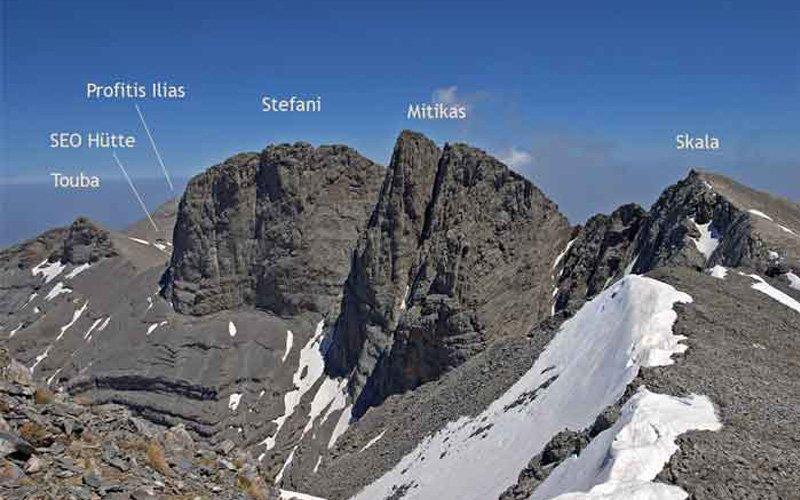 Mt Olympus - summit - 2 days