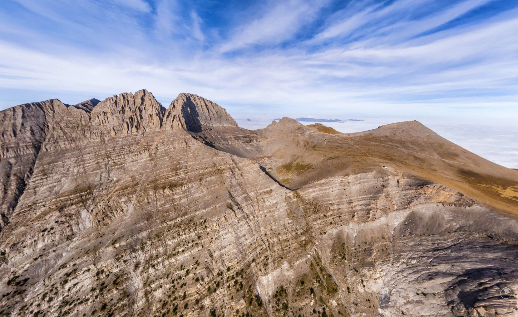 one day - Climbing to summit Mytikas