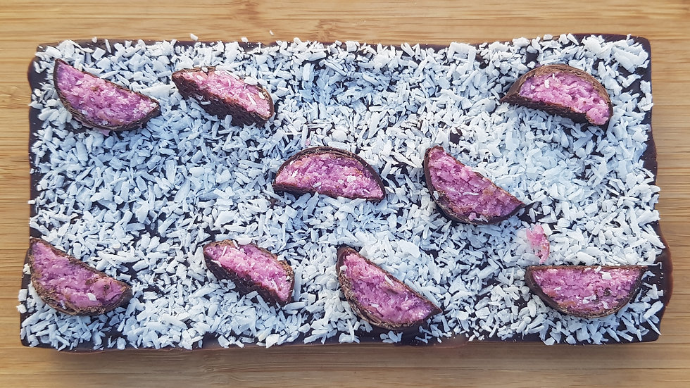 Vegan Coconut & Raspberry Bar