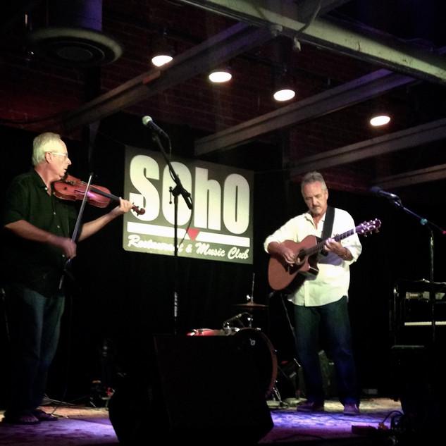 At SoHo with Bob Furgo