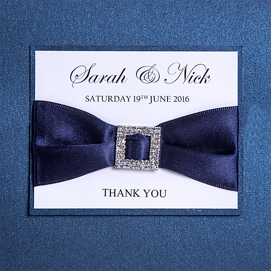 Buckles Thank You Card