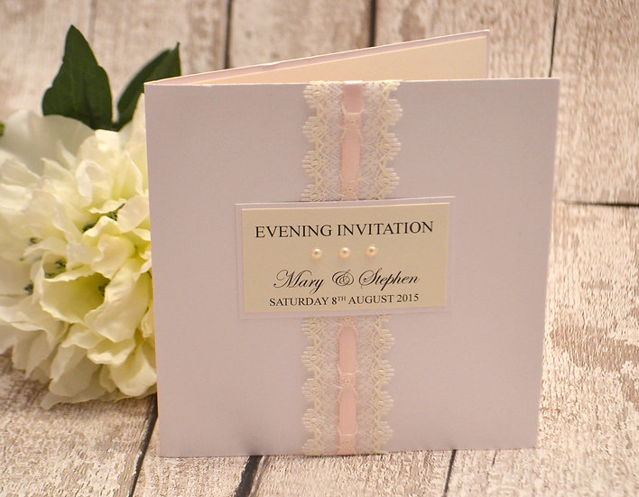 Vintage Evening Invitation