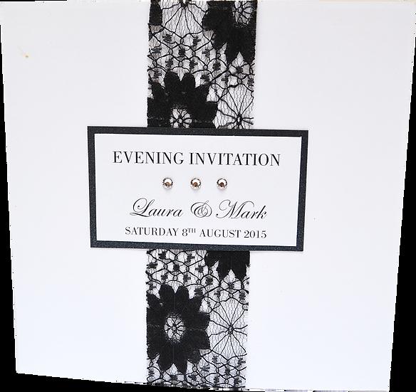 Elegance Evening Invitation