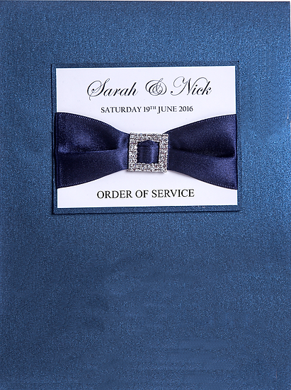 Buckles Order of Service