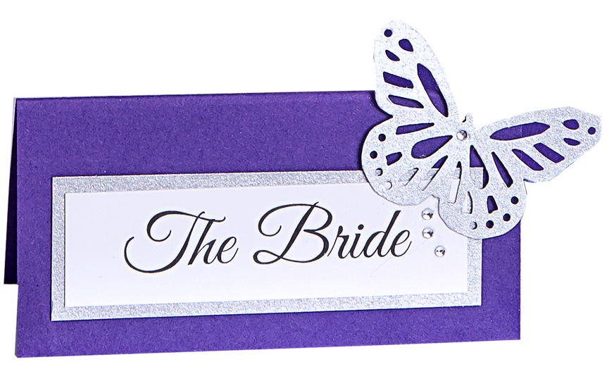 Flutterby Place Card