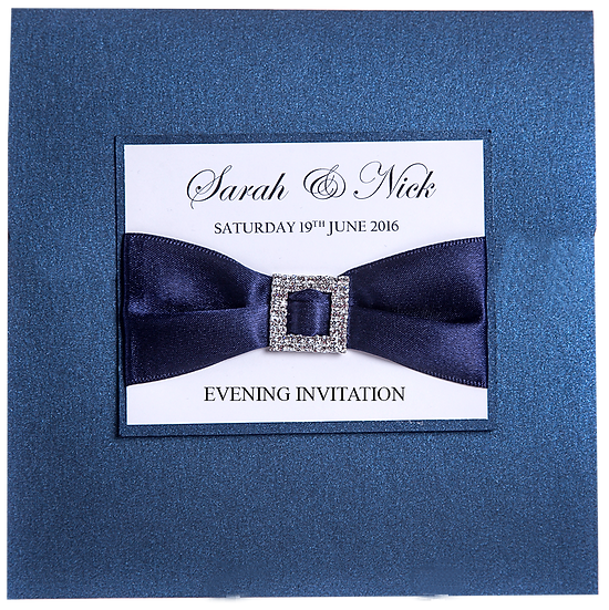 Buckles Evening Invitation