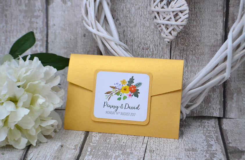 Authentics Pocketfold Sunny Yellow