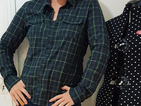 The Granville Shirt by Sewaholic Patterns