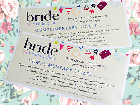 Win tickets to THE BRIDE SHOW 2016