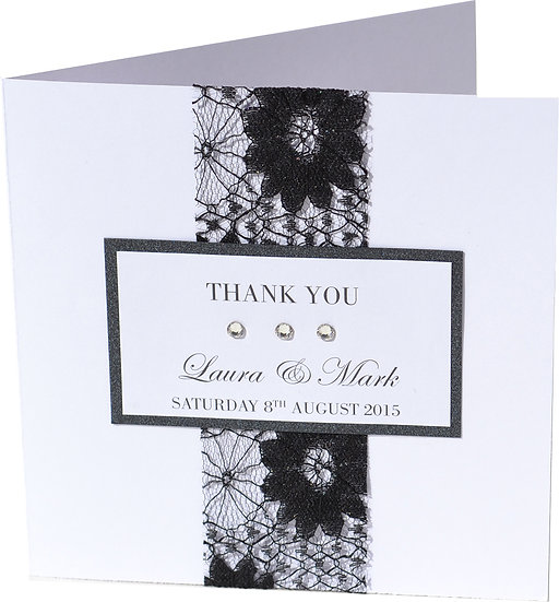 Elegance Thank you Card