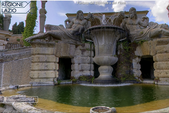 Giardini all'italiana di Villa Farnese