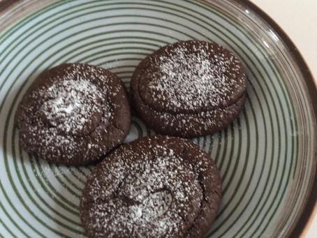 la recette des biscuits  chocolat noisette sans gluten