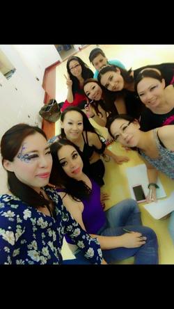 Teach MakeUp in Hk