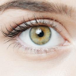 Hazel-green eye