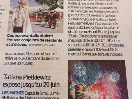 """Article du journal """"SUD OUEST"""""""