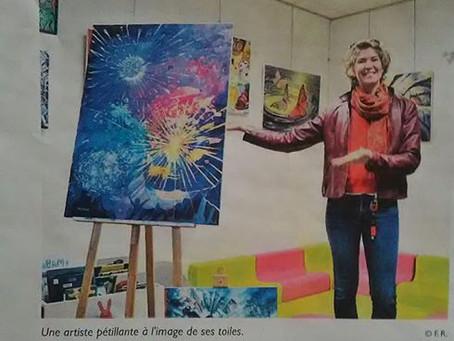 Exposition de peintures A la Médiathèque des Mathes du 06 mai au 29 juin 2019