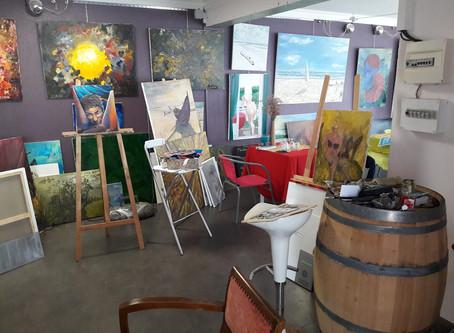 Nouvel atelier-galerie à Etaules !