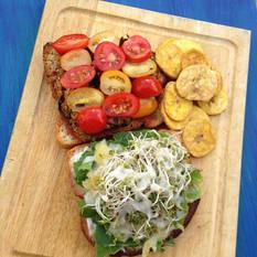 Vegan Complete Protein Sandwiches