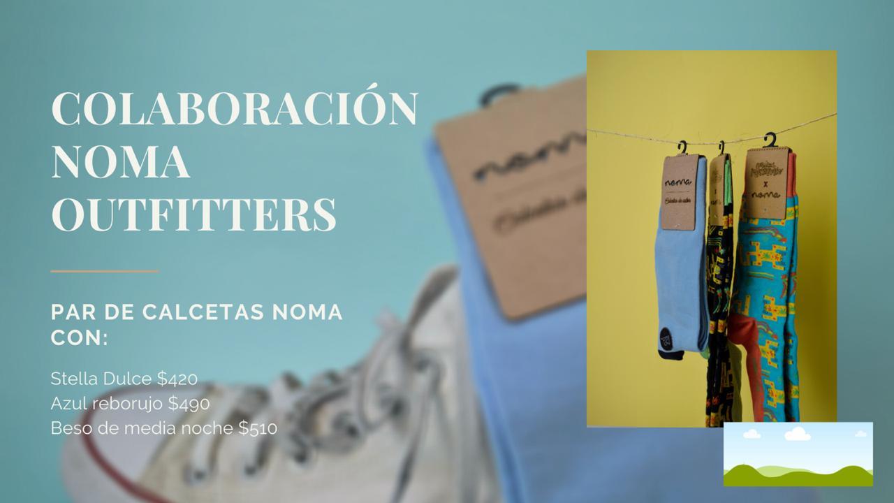 Vino y Calcetas Varoniles de Noma