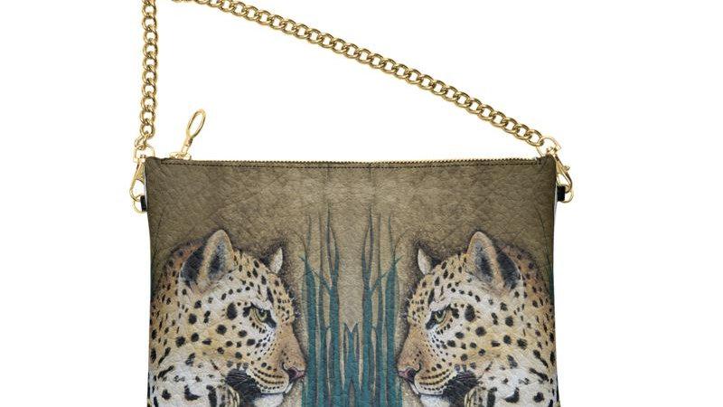 Fur ´v´ Fashion Leather Chain Bag