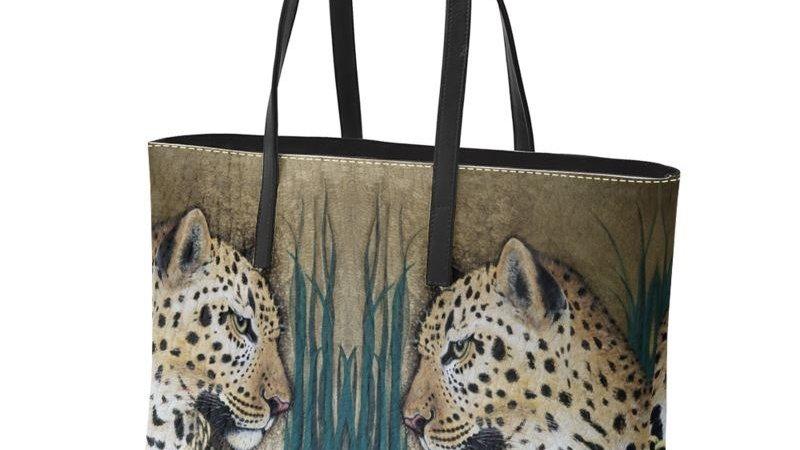 Fur ´v´ Fashion Leather Handbag