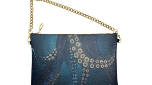 Octopus Leather Chain Bag