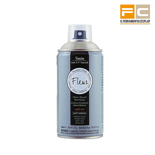Finitura Spray Satinata Base Acqua