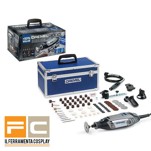 Kit Mini trapano Dremel 3000