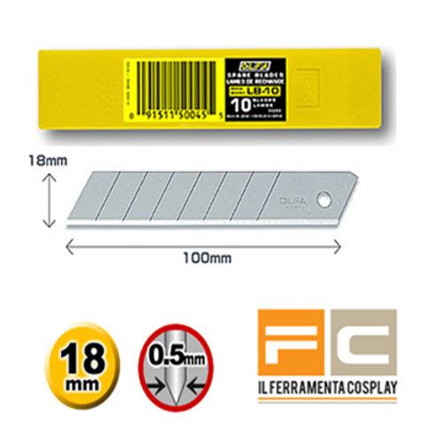 Lame Olfa Standard 18mm