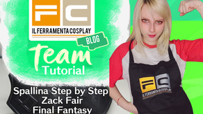 Tutorial: Spallina di Zack Fair Step by Step