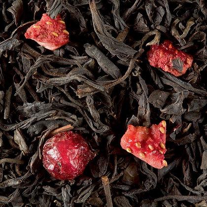 Thé noir - 4 Fruits Rouges