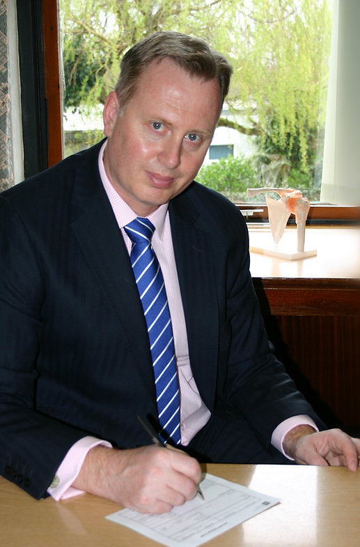 Phil Wykes Consultant in Upper Limb Surgery