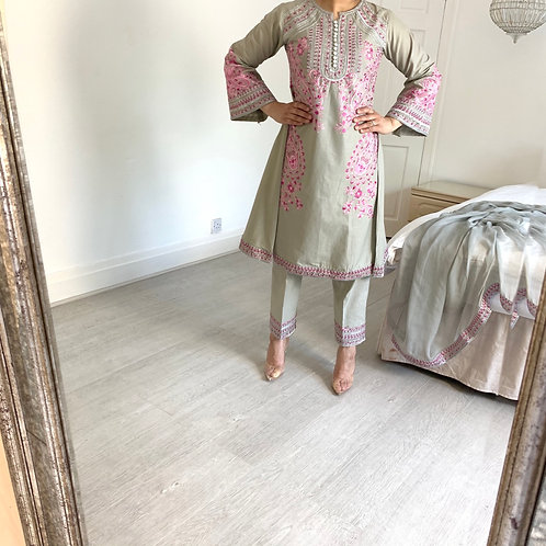 THREE PIECE COTTON OUTFIT
