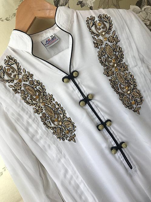 READY TO WEAR 3 PIECE CHIFFON GOWN STYLE DRESS
