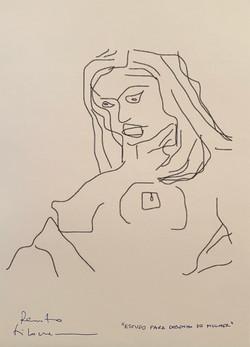 Estudo para desenho de mulher