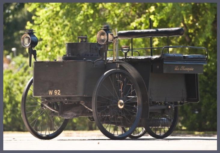 La plus ancienne voiture au monde