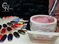 Gel Nails are a form of artificial nail application, such as acrylic💅_They come in a gel form simil
