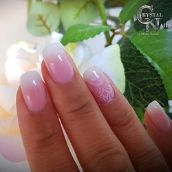 Gel Nails💞 Ombre Effect
