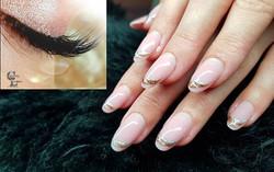 Beautiful Lashes and Nails💕