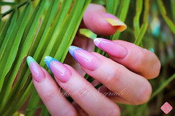 Russian Almond😍 Summer colors  #nailsperth #perthnails #crystalnailsaustralia #crystalnailsandlashe