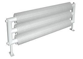rat3 spiral serpentine radiator bw