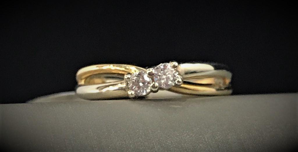 Two Stone Diamond Ring